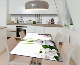 Акция на Виниловая 3D наклейка на стол Zatarga Чистая медитация 650х1200 мм (Z185222/1st) от Rozetka