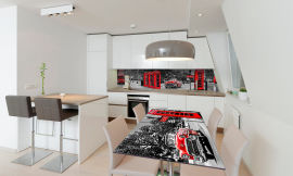 Акция на Виниловая 3D наклейка на стол Zatarga Чопорный Лондон 650х1200 мм (Z181166/1st) от Rozetka