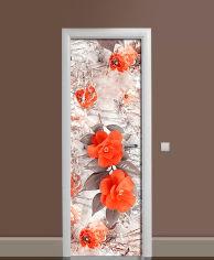 Акция на Виниловая 3D наклейка на дверь Zatarga Восхитительная охра 650х2000 мм (Z185169dv) от Rozetka