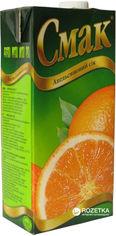Акция на Упаковка сока Смак Апельсин 1 л х 12 шт (4820001470864) от Rozetka