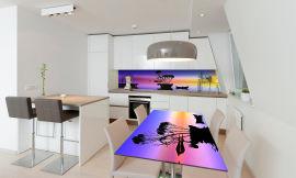 Акция на Виниловая 3D наклейка на стол Zatarga Радужный закат 650х1200 мм (Z181172/1st) от Rozetka