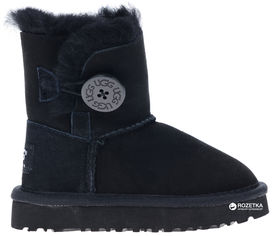 Угги UGG Baby Bailey Button 114682 32 (20.5 см) Black от Rozetka