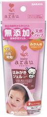 Акция на Детская зубная паста-гель Saraya Arau Baby 35 г (4973512257858) от Rozetka