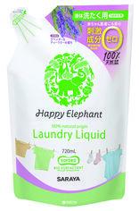 Акция на Наполнитель жидкости для стирки одежды Happy Elephant 720 мл (4973512260339) от Rozetka