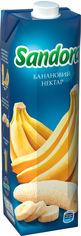 Упаковка нектара Sandora Банановый 0.95 л х 10 шт (4823063112970) от Rozetka