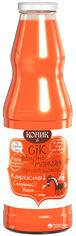Акция на Упаковка сока Коник Яблочно-морковный 1 л х 6 шт (4820157450413) от Rozetka
