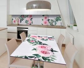 Акция на Виниловая 3D наклейка на стол Zatarga Свадебный венок 600х1200 мм (Z185257st) от Rozetka