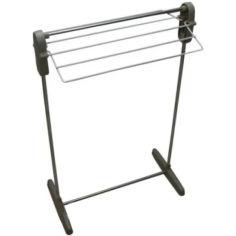 Акция на Напольная Компактная Складная Сушилка для Белья Multifunctional Clothes Rack от Allo UA
