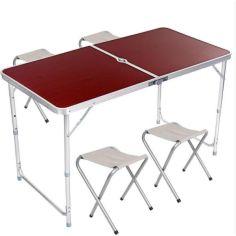 Акция на Стол + 4 стула 120*60 от Allo UA