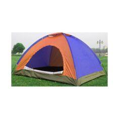 Акция на Палатка С Автоматическим Каркасом Цветная 4-х Местная Палатка Для Кемпинга Размер 2x2 Метра sale от Allo UA