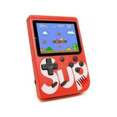 Акция на Портативная игровая ретро-приставка с джойстиком 400 игр Dendy Sega 8bit Sup Game Box от Allo UA