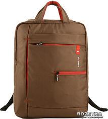 """Акция на Рюкзак для ноутбука Crown Practical 15.6"""" Brown (BPP-5515BN) от Rozetka"""