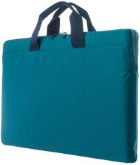 """Акция на Сумка для ноутбука Tucano Minilux 15""""/16"""" Turquoise (BFML1516-B) от Rozetka"""