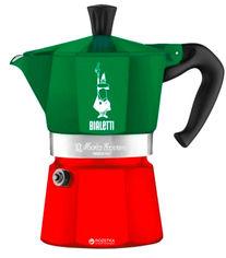 Акция на Гейзерная кофеварка Bialetti Moka Express Italia 135 мл (0005322) от Rozetka