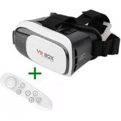 Акция на 3D шлем виртуальной реальности c джойстиком VR BOX 2.0 Виртуальные очки для смартфона от Allo UA