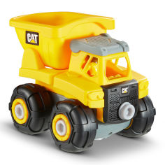 Акция на Игрушка-конструкторCAT Machine maker Самосвал 20 см (80901F) от Будинок іграшок
