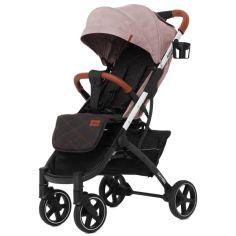 Акция на Коляска прогулочная Carrello Astra CRL-5505 Apricot Pink с EVA колесами + дождевик S, чехол на ножки и сумка от Allo UA
