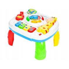 Акция на Игровой столик пианино MalPlay Жираф музыкальный + световые эффекты Разноцветный от Allo UA