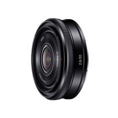Акция на Объектив Sony E 20 mm f/2.8 для камер NEX (SEL20F28.AE) от MOYO