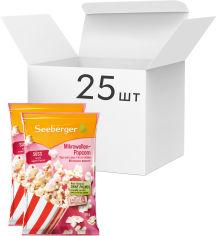 Акция на Упаковка попкорна для СВЧ Seeberger сладкого без пальмового масла 90 г х 25 шт (4008258526903) от Rozetka