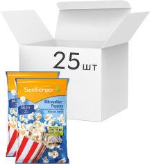 Акция на Упаковка попкорна для СВЧ Seeberger с солью без пальмового масла 90 г х 25 шт (4008258527917) от Rozetka