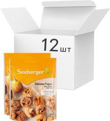 Акция на Упаковка инжира сушеного Seeberger деликатесного 200 г х 12 шт (4008258235898) от Rozetka