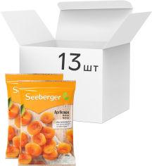 Акция на Упаковка абрикосов сушеных Seeberger Экстра больших осветленных 125 г х 13 шт (4008258358801) от Rozetka