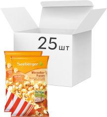 Акция на Упаковка попкорна для СВЧ Seeberger с карамелью без пальмового масла 90 г х 25 шт (4008258525968) от Rozetka