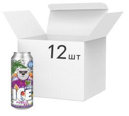 Акция на Упаковка безалкогольного напитка с охлаждающим эффектом Ice Cool со вкусом помело 0.5 л х 12 шт (4820137825217) от Rozetka
