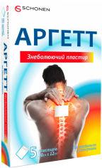 Акция на Аргетт пластырь обезболивающий с лекарственным средством 10х12 см №5 (000000788) от Rozetka