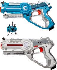 Акция на Набор лазерного оружия Canhui Toys Laser Guns CSTAR-03 (2 пистолета + жук) (3810009) от Rozetka