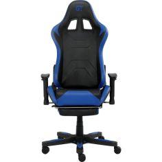 Акция на Геймерское кресло GT RACER X-2535-F Black/Blue от Allo UA
