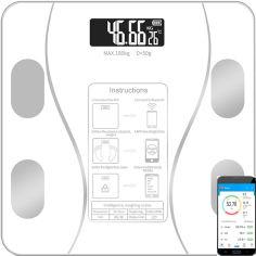 Акция на Смарт-весы Scale one White (scl-001wh) от Rozetka