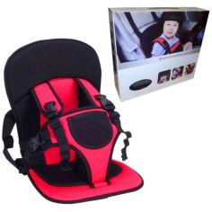 Акция на Бескаркасное автокресло Boya для детей, детское автомобильное кресло, цвет красный от Allo UA
