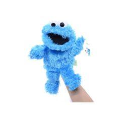 Акция на Кукольный театр рукавичка Куки Улица Сезам из Маппет Шоу, 28 см, игрушка на руку Cookie от Allo UA
