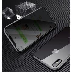 Акция на Magnetic case Full Glass 360 (магнитный чехол) ANTI SPY Анти-шпион для Iphone XR от Allo UA