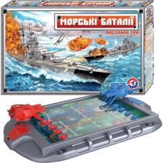 Акция на Настольная игра ТехноК Морские баталии 1110 (bc-tx-1469) от Allo UA