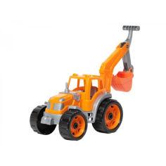 Акция на Трактор ТехноК с ковшом Оранжевый 3435 (bc-tx-1589) от Allo UA