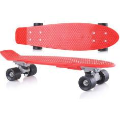 Акция на Скейт Doloni Toys Красный (bc-fl-1017) от Allo UA