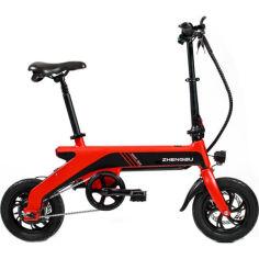 Акция на Электровелосипед Zhengbu С2 Red от Allo UA