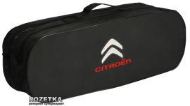 Акция на Сумка-органайзер в багажник Ситроен черная размер 50 х 18 х 18 см (03-027-2Д) от Rozetka