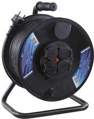 Акция на Удлинитель на катушке Emos P08250 50м (Резина 3х1,5 мм IP44 3680W) от Rozetka