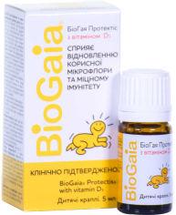 Акция на Пробиотик BioGaia Протектис детские капли с витамином D3 5 мл (000000633) от Rozetka