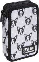 Акция на Пенал Coolpack Jumper 2 35 предметов 2 отделения French Bulldogs (C66247) от Rozetka
