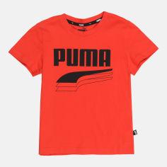 Акция на Футболка детская Puma Rebel Tee 58153011 122-128 см High Risk Red (4062451156909) от Rozetka