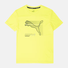 Акция на Футболка детская Puma Active Sports Poly Tee 58587130 164 см Yellow Alert (4063697136526) от Rozetka