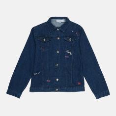 Акция на Джинсовая куртка Lulu Castagnette smix03700507 164 см Темно-синяя (shek2000000547268) от Rozetka
