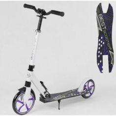 Акция на Самокат детский двухколесный Best Scooter 91458 от Allo UA