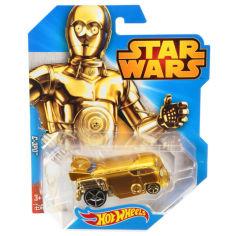 Акция на Игрушка Детская Для Мальчиков Машинка Звездные войны Тускенский рейдер желтая 1к64 Хот Вилс Hot Wheels Mattel от Allo UA