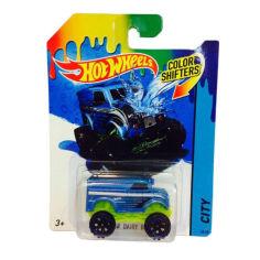 Акция на Игрушка Детская Машинка термочувствительная Измени Цвет Хот Вилс Hot Wheels Monster Dairy Delivery Mattel от Allo UA